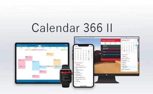 Calendar 366 II for macOS-好用的日历记事工具