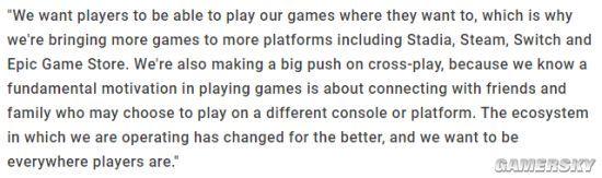 EA工作室老大Laura Miele:让玩家在任何想要的平台进行游戏 跨平台联机大力推动中