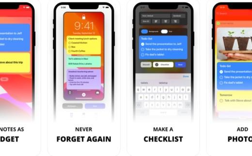 Sticky Notes Widget-一款专注于小组件的便签 app限时免费中