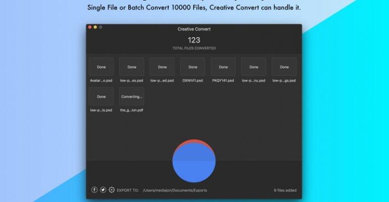 creative cioud下载-Macos文件转换程序插图