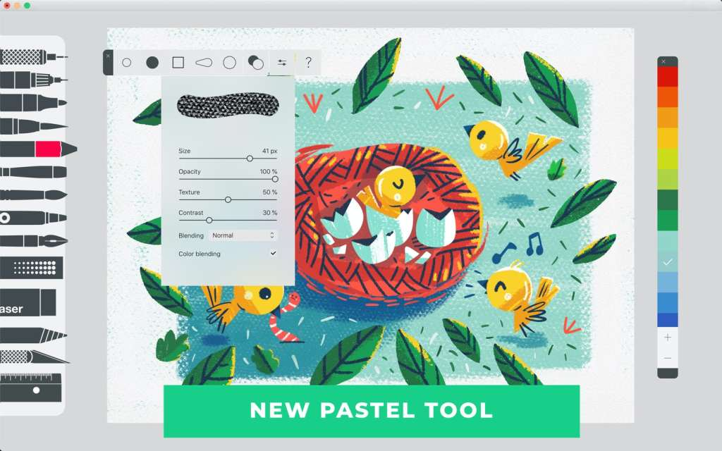 Tayasui Sketches Pro-电子创作利器macos插图