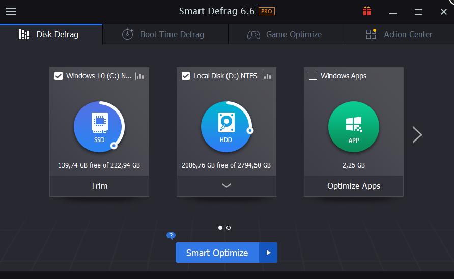 Smart Defrag Pro 6.6-安全稳定易于使用的磁盘碎片整理程序插图2