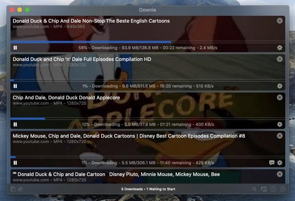 Downie 4-网络视频下载管理器插图