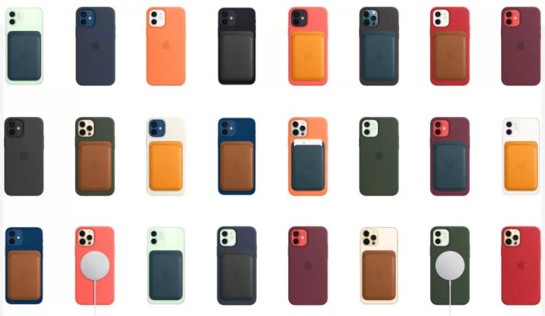 苹果推出MagSafe品牌的无线充电器和iPhone手机壳插图