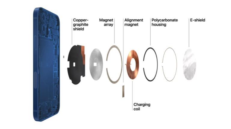 苹果推出MagSafe品牌的无线充电器和iPhone手机壳插图1