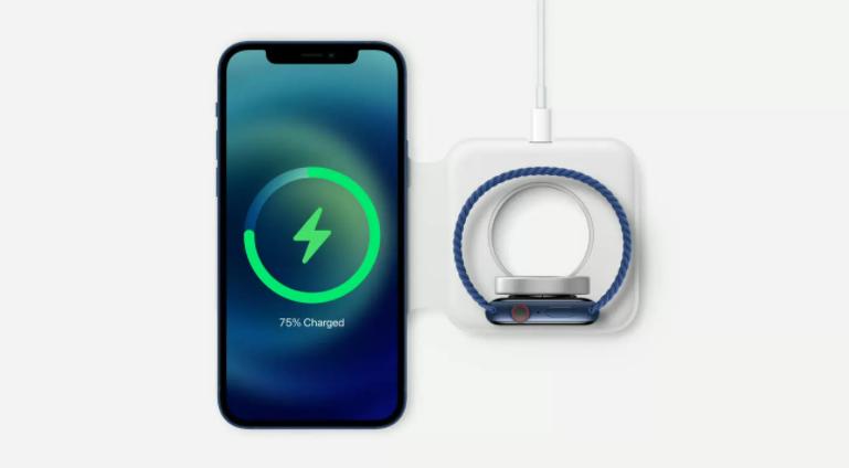 苹果推出MagSafe品牌的无线充电器和iPhone手机壳插图2