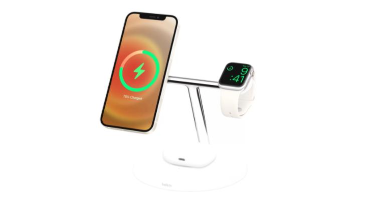 苹果推出MagSafe品牌的无线充电器和iPhone手机壳插图3