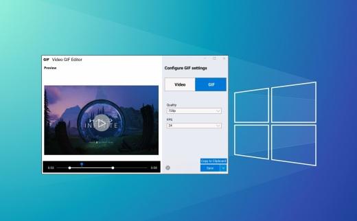 Video GIF Capture-win10内置录屏工具