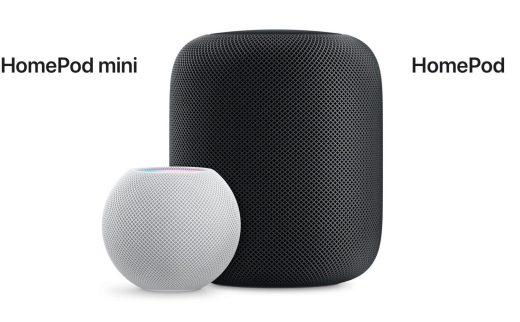 HomePod mini与HomePod对比