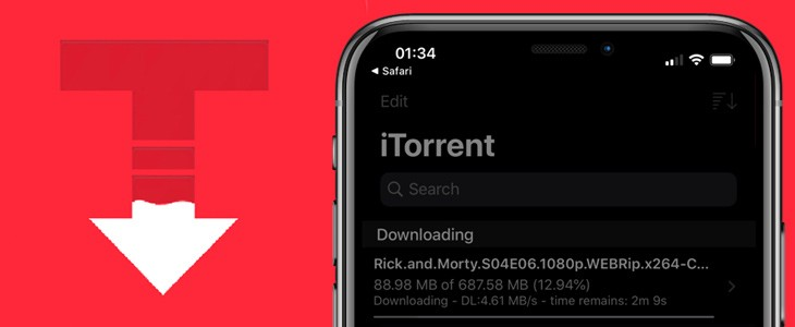 iTorrent-iOS上的种子下载APP插图