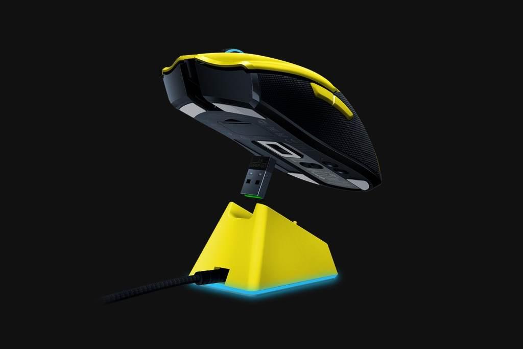 Razer雷蛇与Cyberpunk 2077合作发售限量款Viper Ultimate无线鼠标插图1