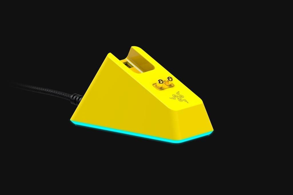 Razer雷蛇与Cyberpunk 2077合作发售限量款Viper Ultimate无线鼠标插图