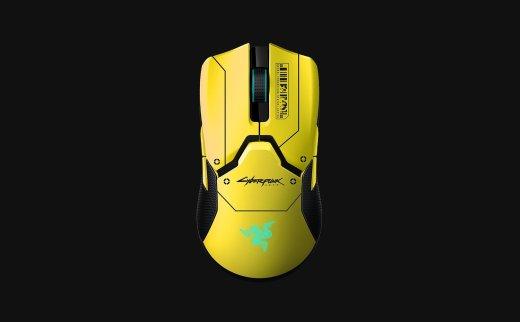Razer雷蛇与Cyberpunk 2077合作发售限量款Viper Ultimate无线鼠标