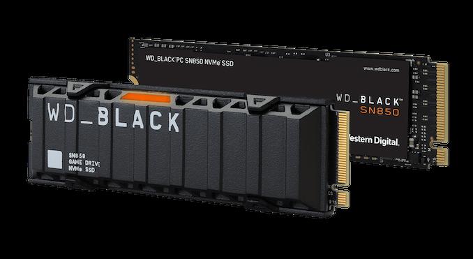 西部数据发布SN850 PCIe Gen4 SSD插图