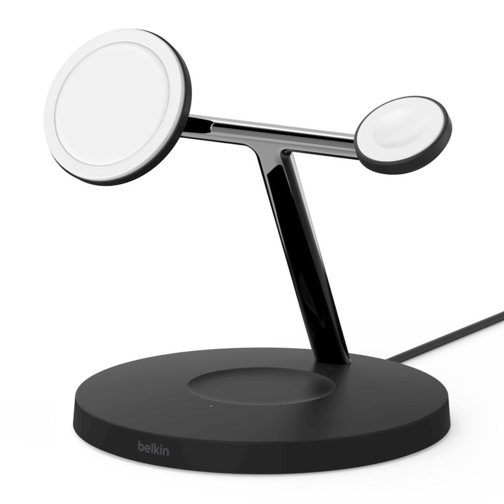 iPhone12 贝尔金MagSafe三合一无线充电器插图