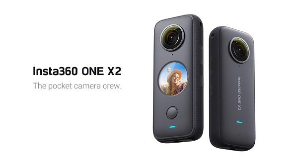 Insta360 ONE X2是可放入口袋的图像稳定的5.7K 360度相机插图
