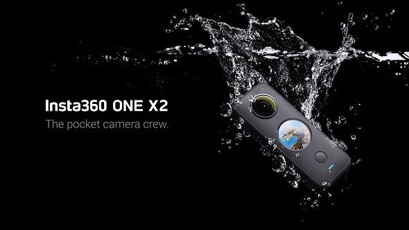 Insta360 ONE X2是可放入口袋的图像稳定的5.7K 360度相机插图(1)